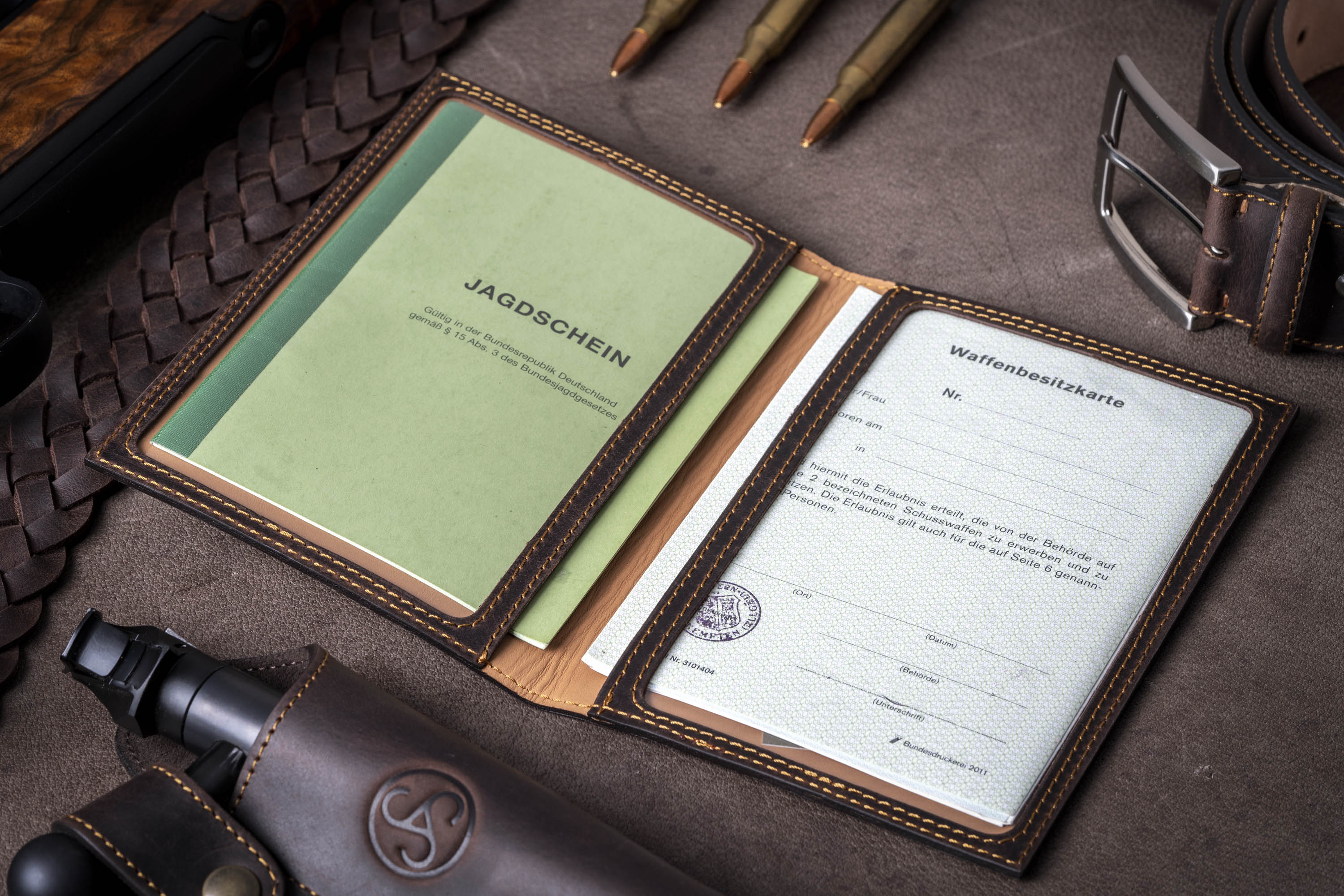 SAUER Hunting License Carrier